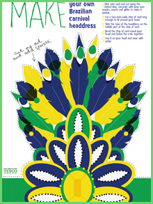 Carnival clipart headdress Headress on Carnival this Pin