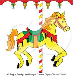 Carousel clipart rocking horse Clipart Horse clip Image Free
