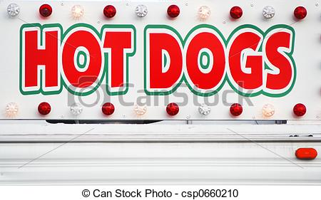 Hot Dog clipart carnival Sign A of csp0660210 HOT