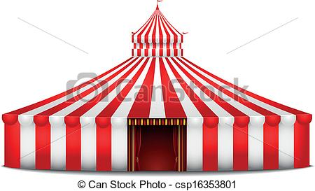 Carneval clipart pink circus tent 4 circus tent Clipart clipart