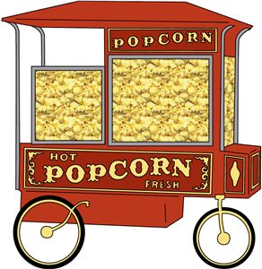 Popcorn clipart popcorn machine This on Images on and