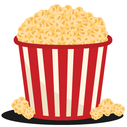 Carnival clipart popcorn bucket Cute for cute for silhouette