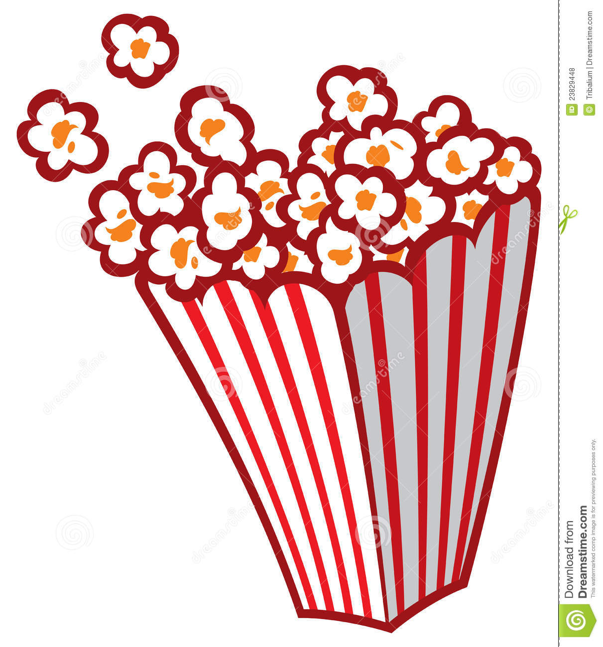 Carneval clipart popcorn bucket Art Free popcorn%20bag%20clipart Circus Popcorn