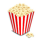 Carnival clipart popcorn bucket Free GoGraph with  vector
