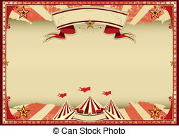 Carneval clipart retro Vintage Clipart Red of background