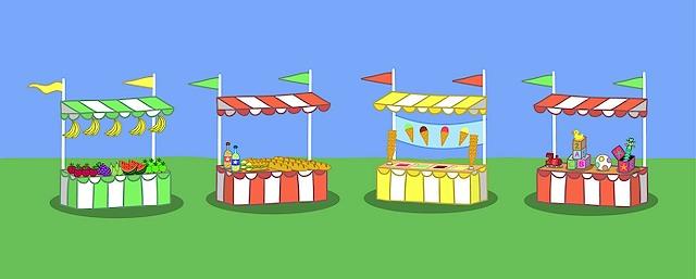 Carnival clipart stalls Clipart stalls schools fete Clipart