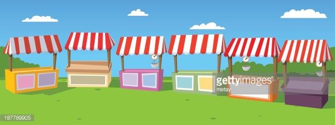 Carnival clipart stalls AT At com Stalls Stalls