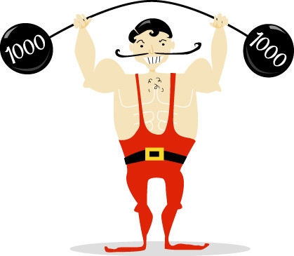 Carneval clipart strong man And Art Free Faces Clip