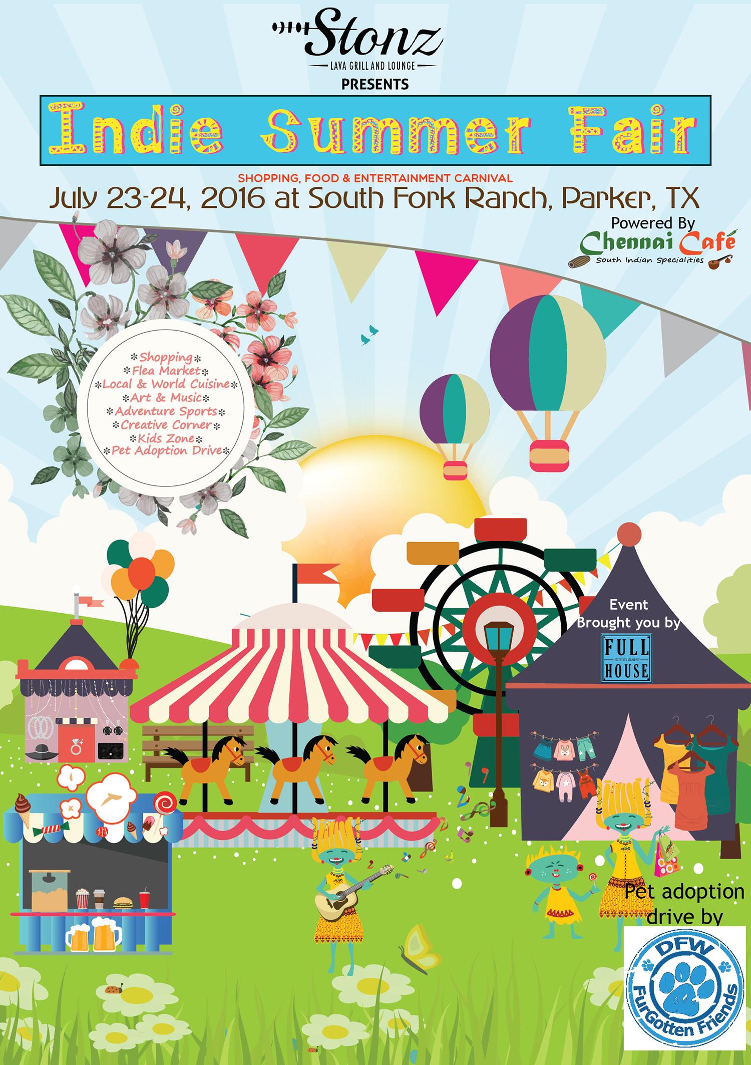 Carnival clipart summer fair TX PLANO Indie FAIR MAGAZINE2
