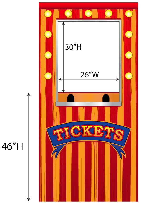 Carnival clipart ticket booth Carnival (43+) Ticket Clipart cartoon