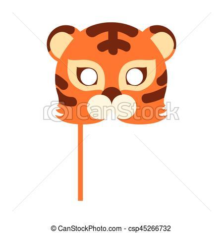 Carneval clipart tiger Tiger Orange Cat Orange Striped