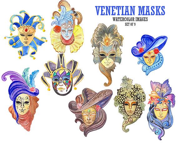 Carneval clipart venetian mask Venetian YesFoxy Venetian mask carnival