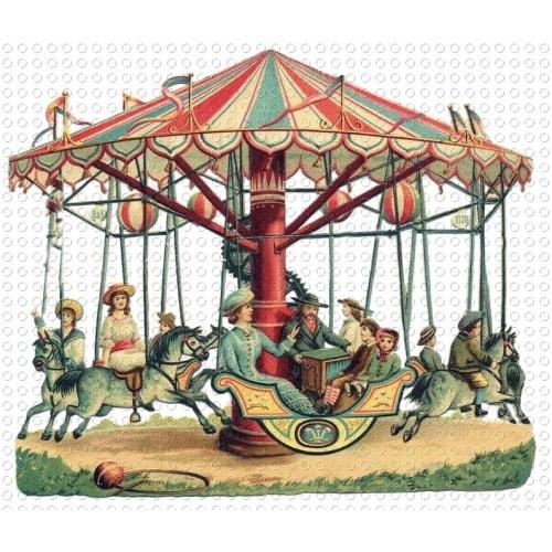 Carousel clipart circus Halloween art Clip All Merry