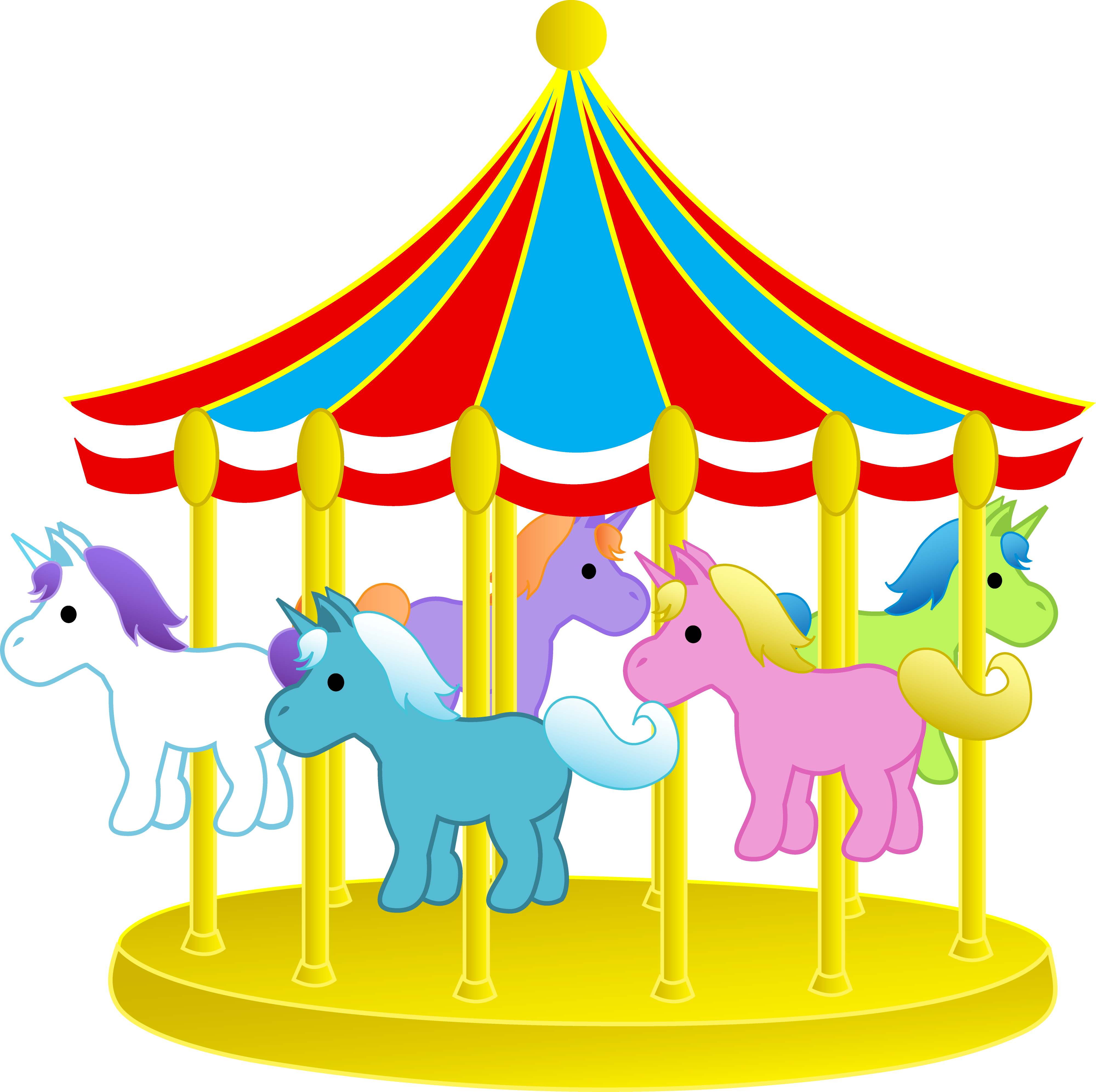 Simple clipart carousel This Download Collection + Clipart