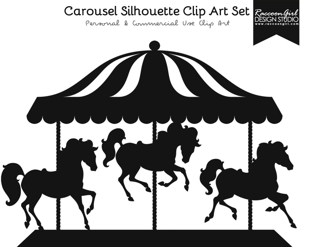 Carousel clipart Images: Black clipart Clipart free