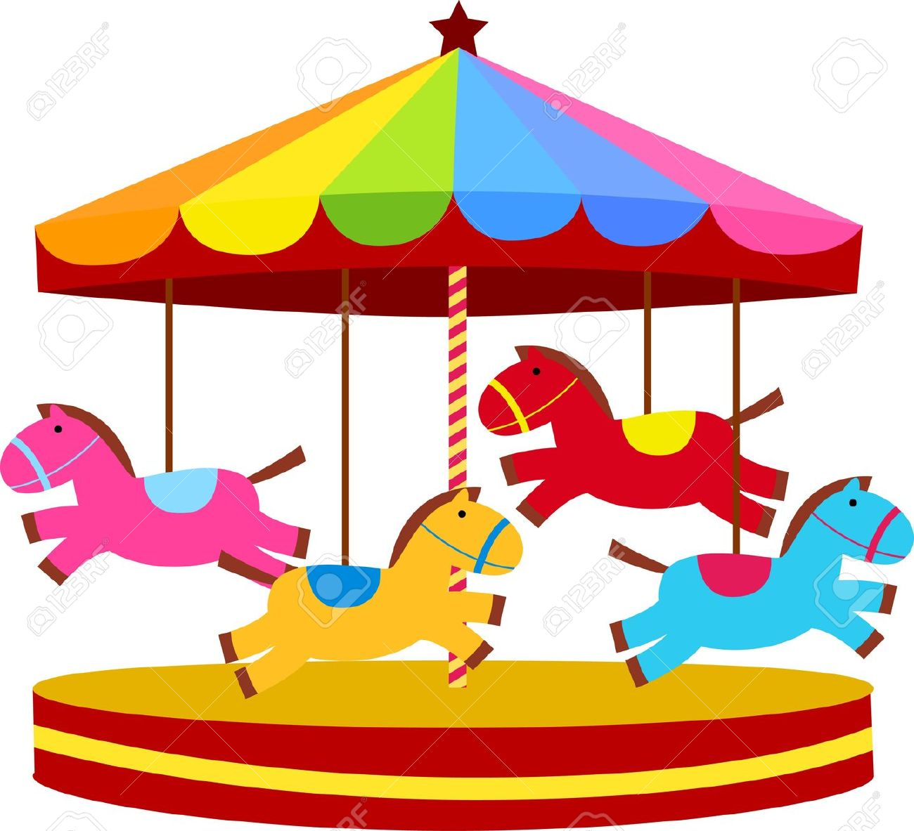 Ride clipart carousel Illustrations Cliparts Group 5 830