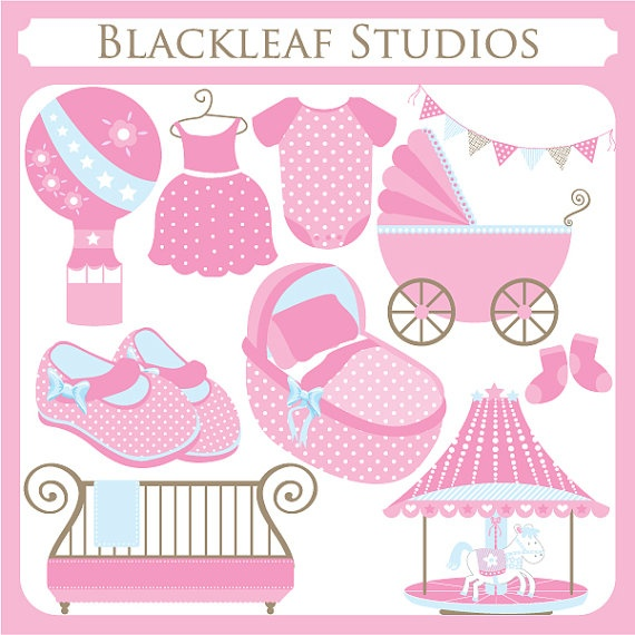 Carousel clipart baby And Use Baby cot crib