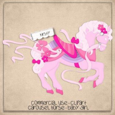 Carousel clipart baby $0 Horse cacahorsegirl] Carousel Baby