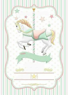 Carousel clipart baby By Carrocel carousel PartiesBaby …