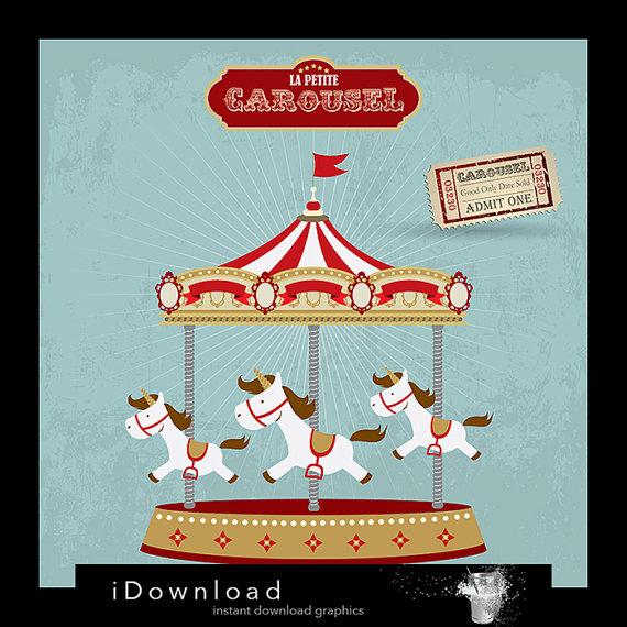 Carousel clipart baby Clipart CAROUSEL carousel carousel CLIPART