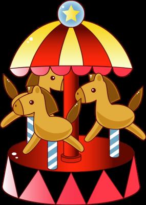 Carousel clipart cartoon Clipart Carousel Carousel Panda Images