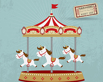 Carousel clipart circus Your to clipart and carousel