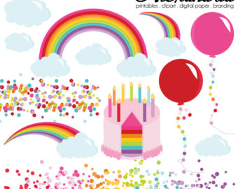 Pancake clipart rainbow Personal Wishes & Rainbow Clipart