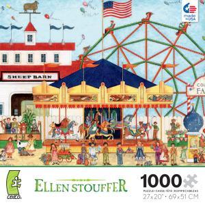 Carousel clipart county fair Stouffer: Ceaco) Jigsaw Carousel County