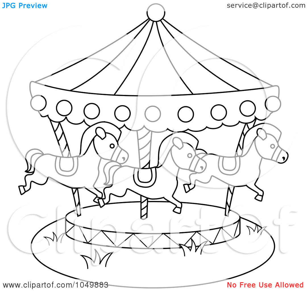Carousel clipart county fair Art Pages pages eassume Coloring
