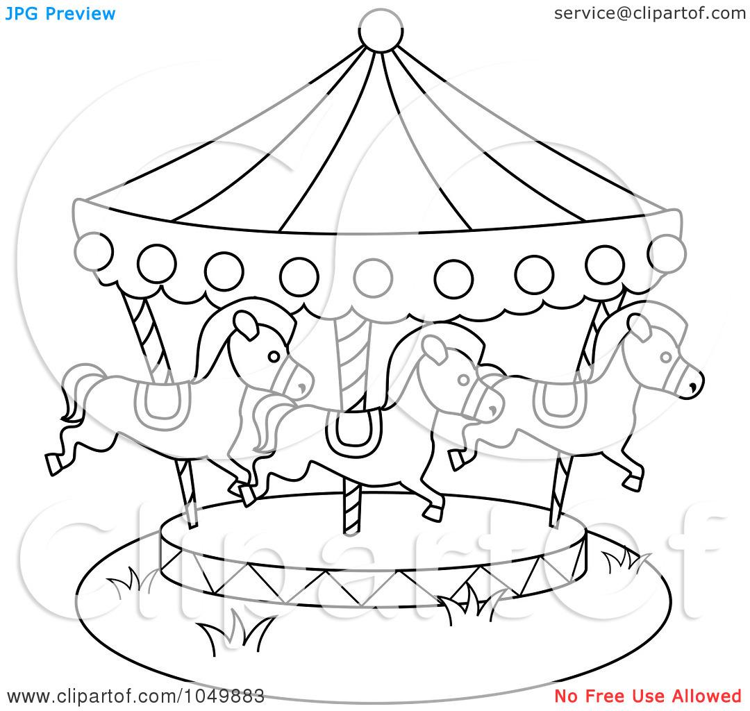 Carousel clipart county fair Fair Art Printable County com