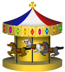 Carousel clipart county fair County Gallery Madlantern Arts Graphics