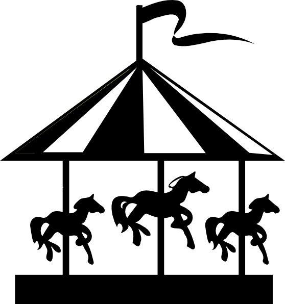 Carousel clipart county fair Go carousel and royalty