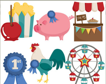 Carousel clipart county fair Ferris Fair Theme Clipart wheel