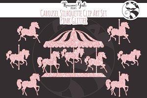 Carousel clipart creepy Templates horse Fonts  Glitter