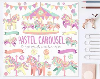 Carousel clipart cute Clipart Horse Horse GET FOR