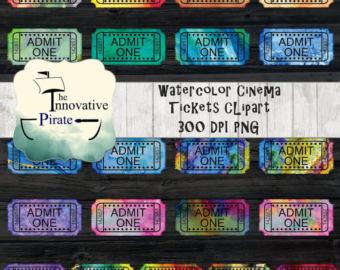 Carousel clipart fair game Tickets Cinema ticket movie color