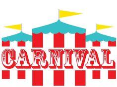 Carousel clipart kids carnival Invitation Carnival  your Invite