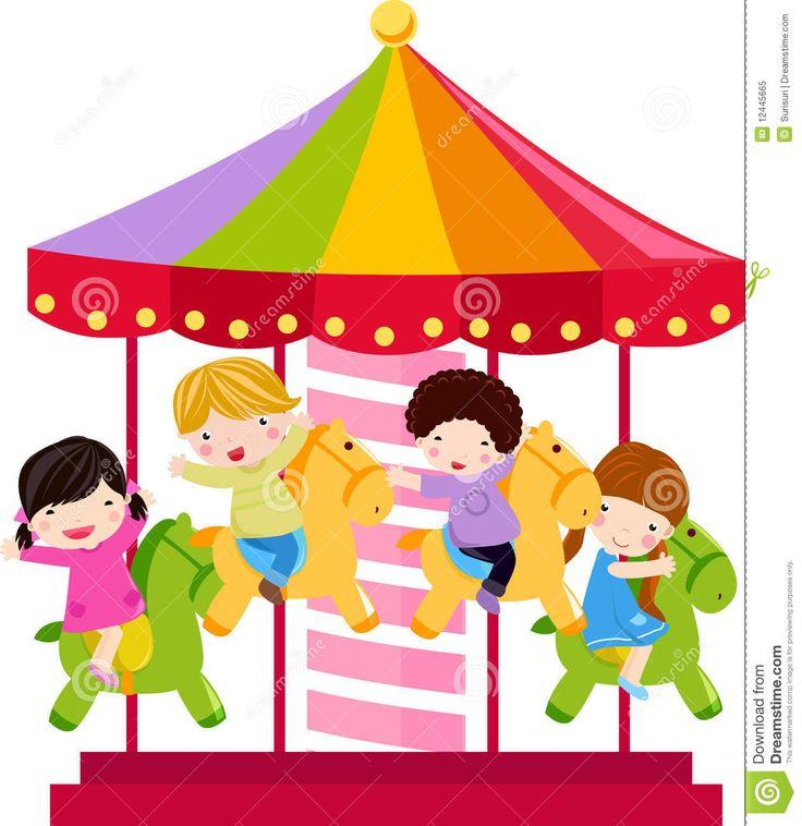 Carousel clipart kids carnival On images Free Pinterest 207