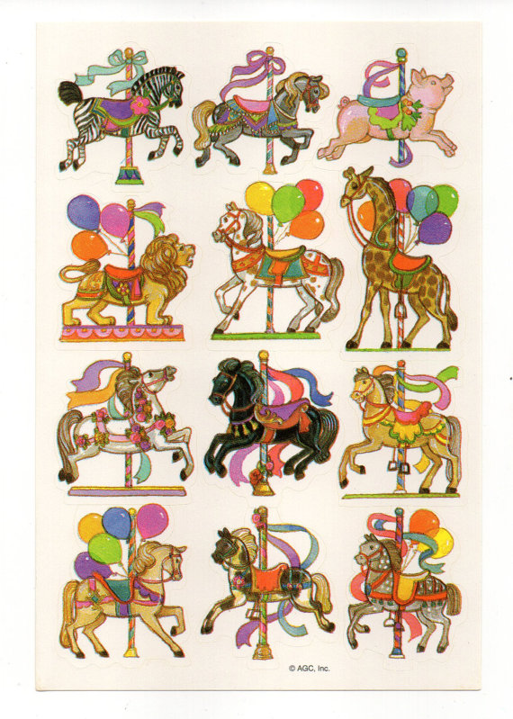 Carousel clipart lion American similar to Horse similar