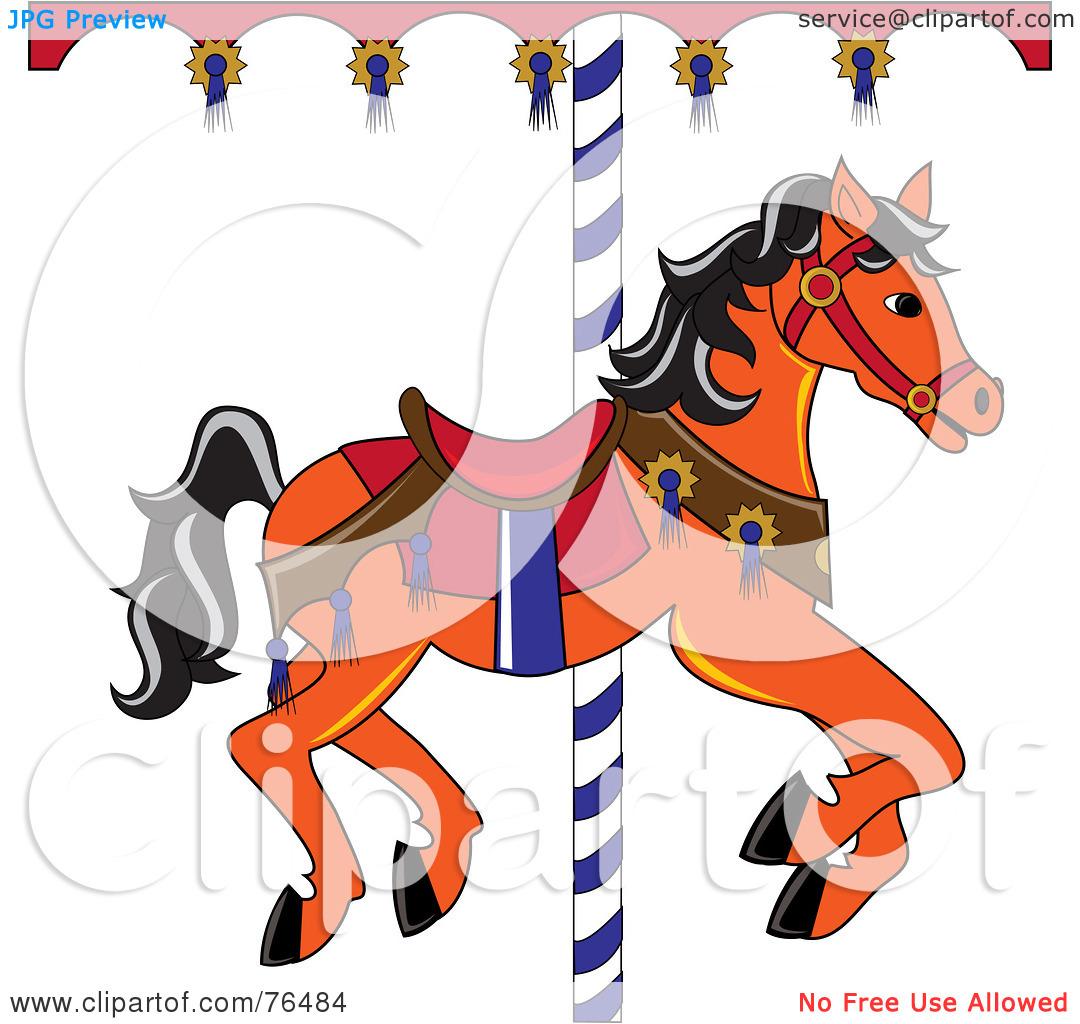 Carousel clipart orange Free (RF) horse Free an