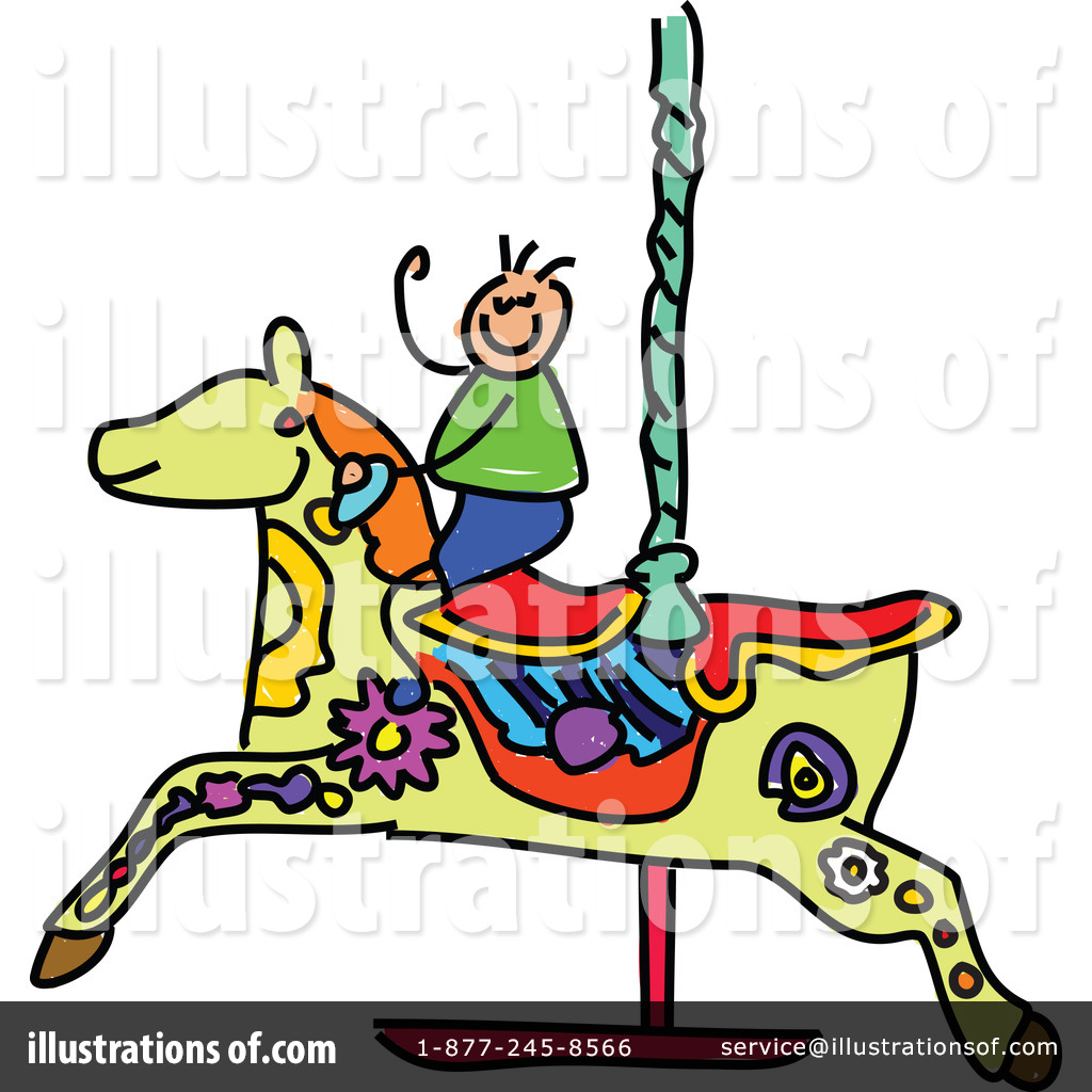 Carousel clipart pastel Clipart #214219 clipart by Illustration