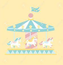 Carousel clipart pink Carousel imagen clipart de Clipart