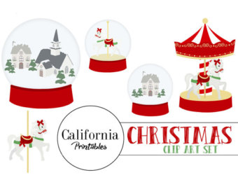 Carousel clipart red Of Clip Art Set clipart