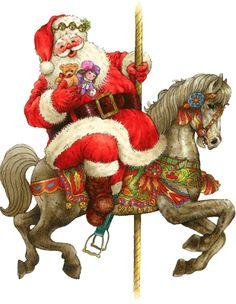 Carousel clipart red HORSE HORSE CLIP CAROUSEL