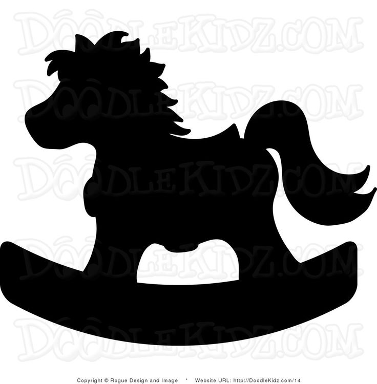 Carousel clipart rocking horse Emborder this rocking on Pinterest