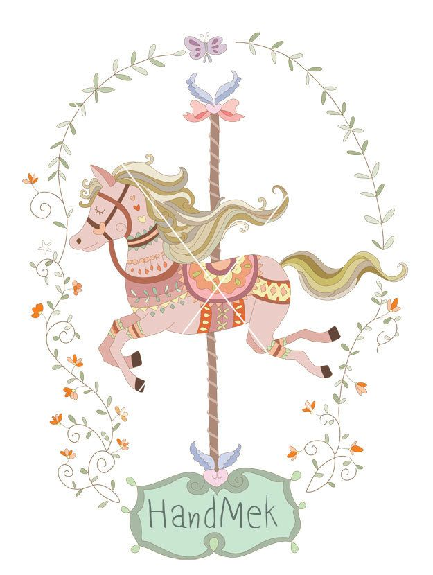 Carousel clipart street festival JPEG carrusel file clipart images