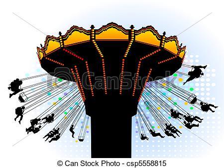 Carousel clipart swing Carousel Vector EPS  Clipart