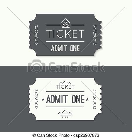 Carousel clipart ticket To Entry ticket Illustration style