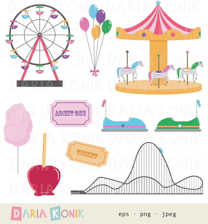 Carousel clipart ticket Clip carnival clip art Art