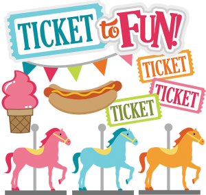 Carousel clipart ticket  Ticket svg files county